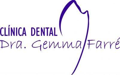 Logo Clínica Dental Gemma Farré, tu dentista de confianza en Sabadell.