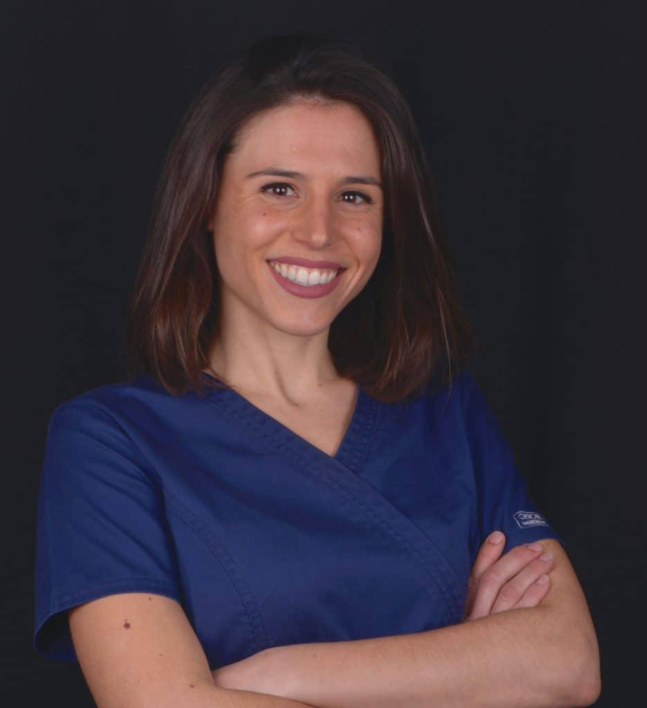 Ivette Marqués, ortodoncista en Sabadell, en Clínica dental Gemma Farré.