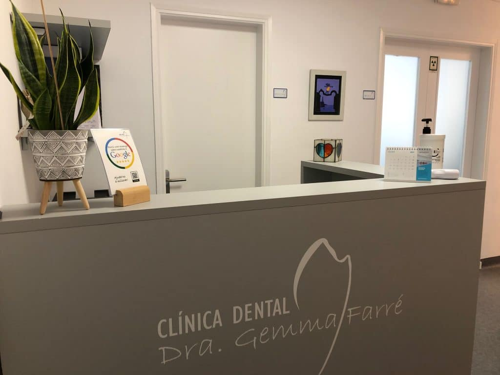 Recepción Clínica Dental Gemma Farré